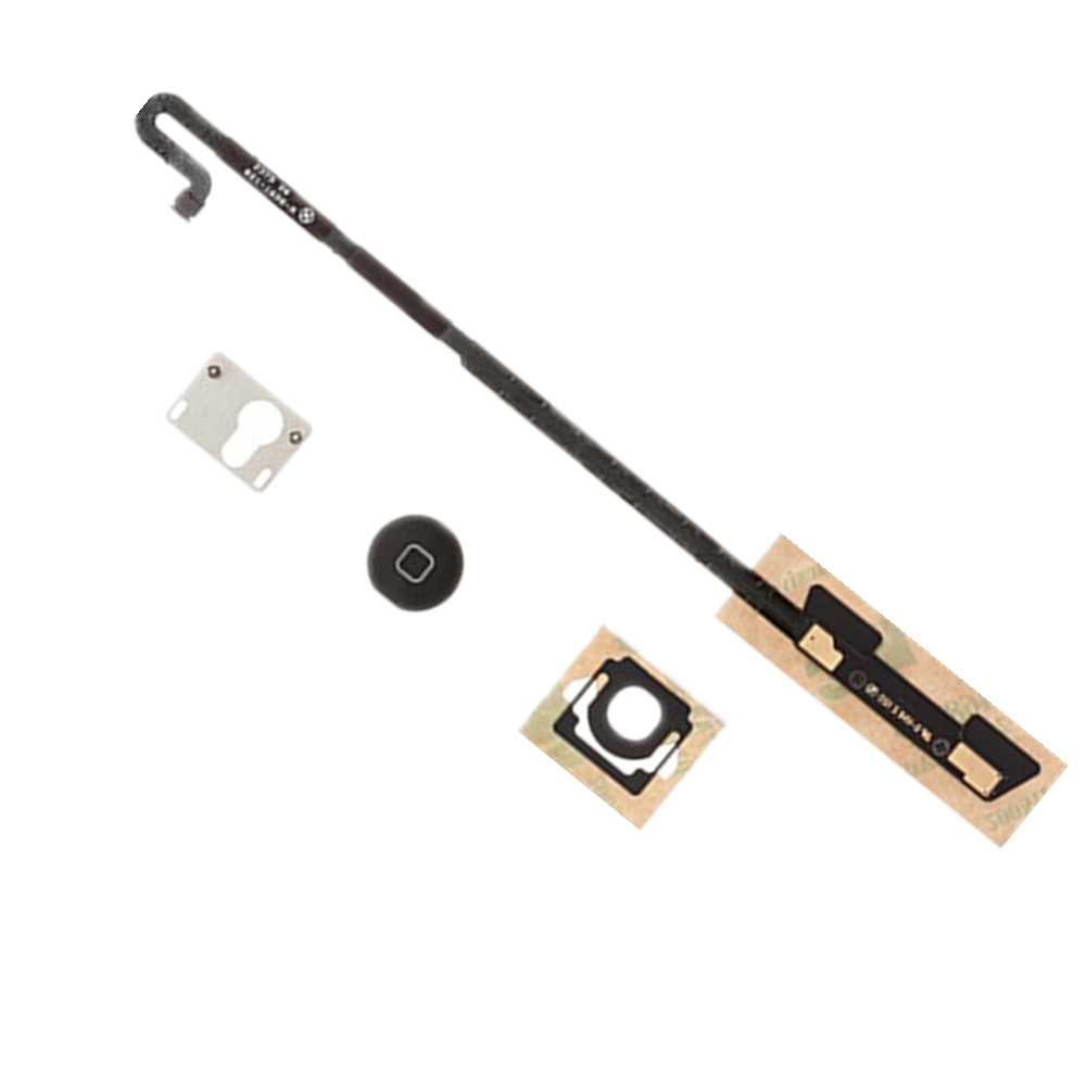 For Apple IPad 4 Home Button And Mounting Bracket Set Replacement !!