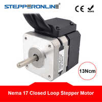 Nema 17 Closed Loop Stepper Motor 13Ncm/18.4oz.in 1A Encoder 1000CPR 2 Phase Bipolar Nema17 Stepper Motor