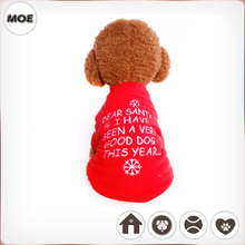 2016 Winter Warm Clothing For Pets Merry Christmas Dog Clothes Coats
