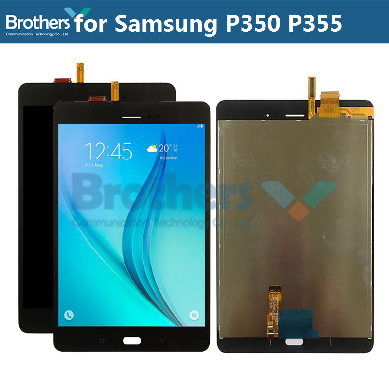 For Samsung GALAXY Tab A 8.0 P350 P355 LCD Display with Touch Screen Digitizer LCD Screen Tablet P355 Panel LCD Assembly TestedFor Samsung GALAXY Tab A 8.0 P350 P355 LCD Display with Touch Screen Digitizer LCD Screen Tablet P355 Panel LCD Assembly Tested