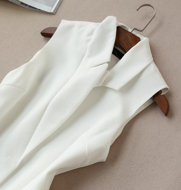 Pantalon White Marée Version Gilet De Large Costume Mode Séries Paragraphe Automne Pantalons Femmes Nouvelle Ensemble Neuf Du Coréenne Printemps black Jambe Deux FRFOq4wn