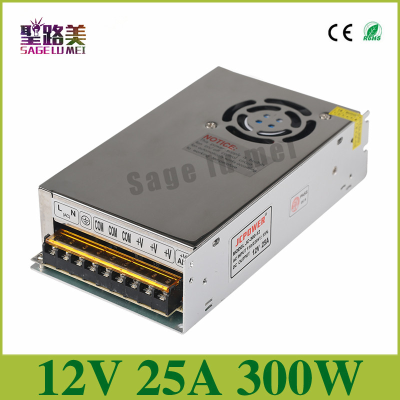 2016-Best-quality-12V-25A-300W-Switching-Power-Supply-Driver-for-LED-Strip-AC-110-240V
