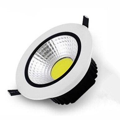 AC85V-265V 110 В/240 В 16 Вт удара downlight встраиваемые светодиодные лампы на стенах пятно света со светодиодными драйвер для дома Освещение