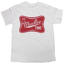 Its Mueller Time Shirt Trump Russia Shirt It's Mueller Time T-Shirt t shirt Fashion Classic Unique Free shipping цены онлайн