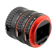 High qulity Auto Focus 3 piece Macro Extension Tube Set red ring for Canon EOS Extreme Close-Up automatic