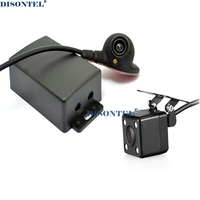 Two channel switch car parking cameras (car video automatic switch)for rear and front or side camera video