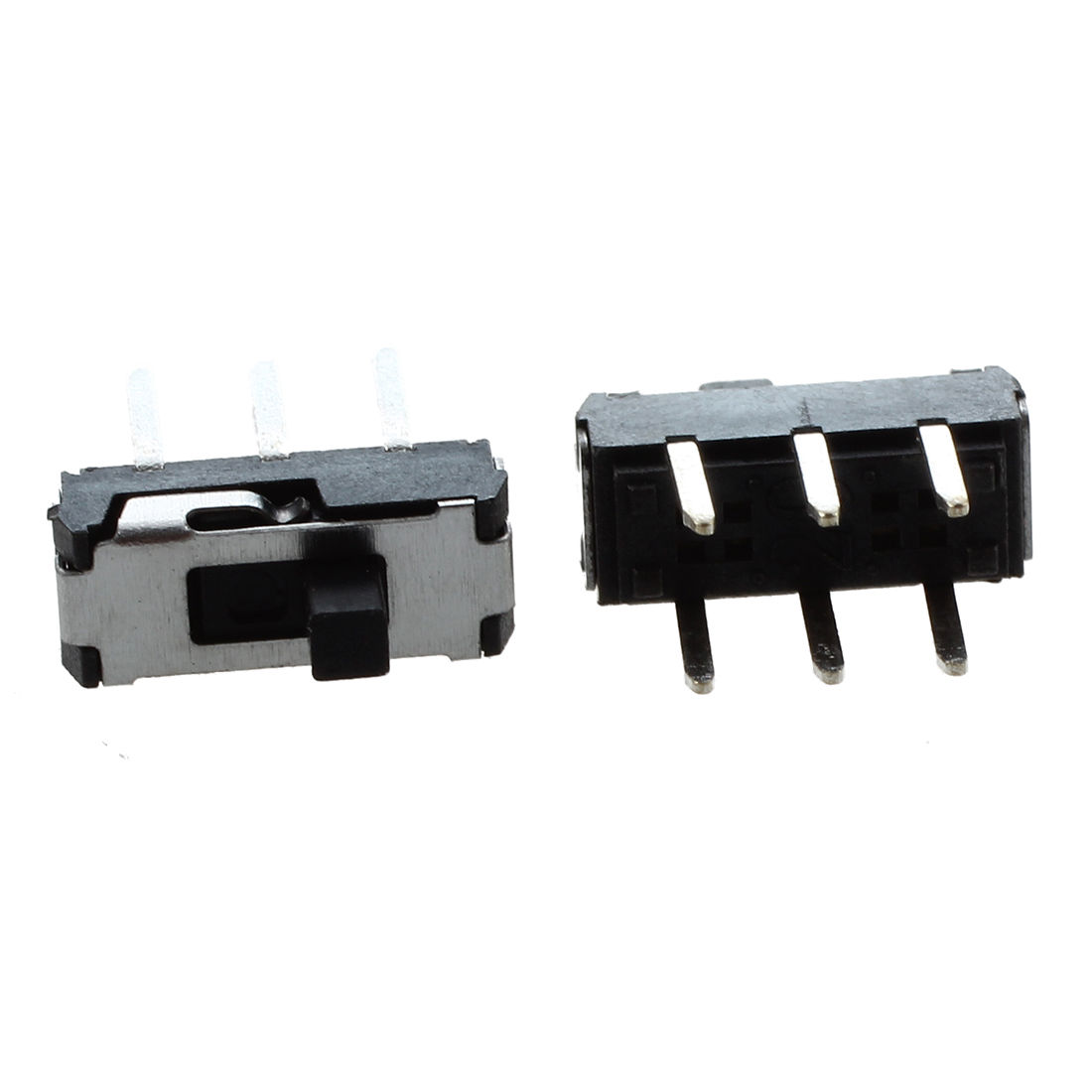 New 20 Pcs On/off/on Dpdt 2p2t 6 Pin Vertical Dip Slide Switch 9x4x3.5mm Customers First Lighting Accessories
