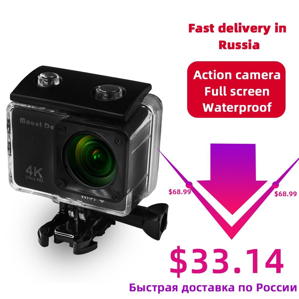 Caméra d'action de chien de montagne HD 4 K WiFi caméra vidéo de Sport DVR enregistreur Cam Ambarella boîtier étanche trépied accessoires de caméra