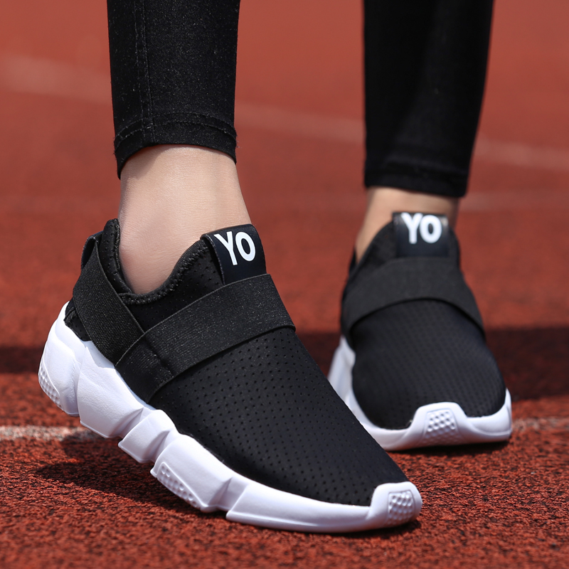 ZOPUDC New Fashion Sneakers Women Breathable Walking Platform Shoes Women Ladies Casual Shoes Summer Flats Loafers Zapatos Mujer spring summer women casual shoes flats ballet shoes new 2018 fashion light breathable bowknot shoes women mujer zapatos s022