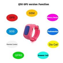 Q50 Anti-Lost GPS Tracker Waterproof Smart Watch for Kids