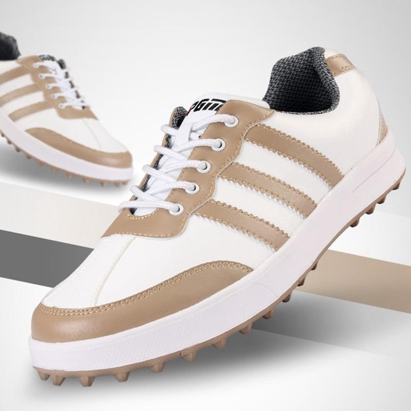 Brand PGM Adult Mens Golf Sports Shoes Light & Breathable & Steady & waterproof XZ021 branded polo authentic golf mens gun bags waterproof pu golf travel bags club8 9 small golf bag big capacity bolsas golf mujer