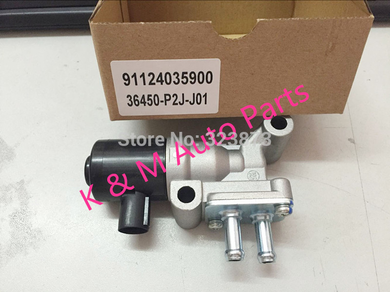 TOP Quality NEW  Idle Speed Motor Idle Air Control Valve IACV  36450-P2J-J01 36450P2JJ01 For Honda Civic  K-M