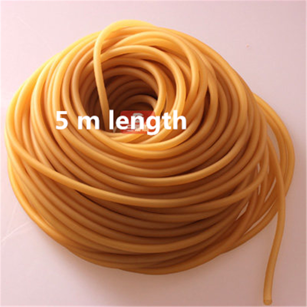 5 meter Natural Latex Slingshots Rubber Tube Tubing Elastic Surgical Lab Use bebeconfort 30000709 2 sucettes natural physio latex t3 3 coloris