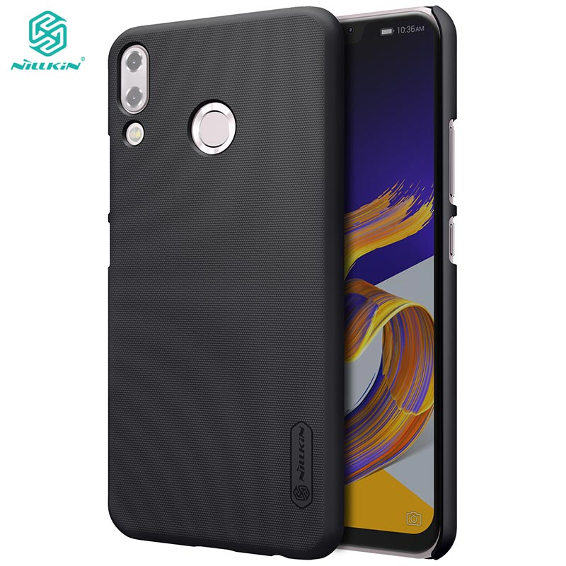 sFor Asus Zenfone 5 2018 Case Nillkin Frosted Shield PC Hard Cover Case For Asus Zenfone 5 2018 ZE620KL With Screen Protector