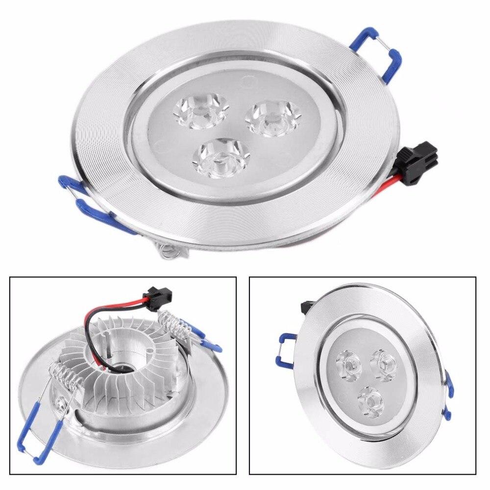 3 Вт Светодиодный светильник с оптимизированным дизайном, встраиваемый потолочный светильник, точечный светильник, антикоррозийный светильник