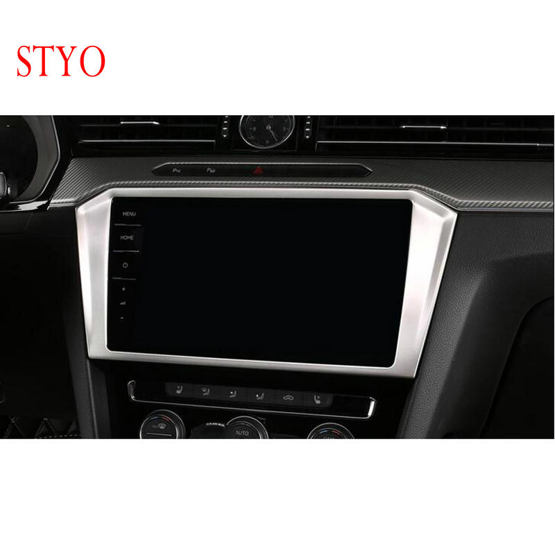 STYO Car Stainless Central Console GPS Navigation Trim