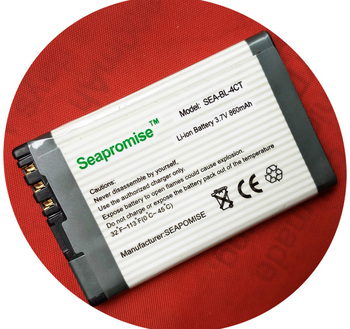 wholesale 25PCS  mobile phone battery BL-4CT BL 4CT BL4CT for Nokia X3, 5630, 2720 7210S, 6700S, 6730C, 5300XM