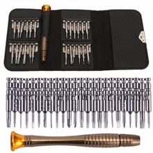 Ноутбук сотовый телефон Электроника ручные инструменты Инструменты для ремонта сотового телефона набор 25 в 1 Прецизионная отвертка