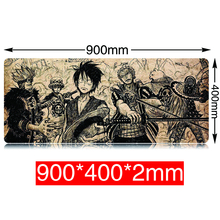900x400mm Computer Gaming Narutos Mousepad Laptop Desk Keyboard Mouse Pad Lock edge Mat Non-slip Muismat Anime PC Mice