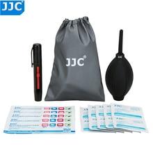 JJC CL JD1 kamery zestaw do czyszczenia powietrza zdmuchiwacz pyłu tkaniny z włókna pióro do czyszczenia soczewek dla Nikon/Sony/Olympus/Canon DSLR czujnik czyste