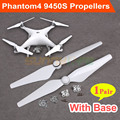 1pair 9450S Quick Release Propellers CCW & CW Prop With/ Without Base for DJI Phantom 4/4 PRO and Phantom 4 PRO+ V2.0