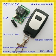 Smart Home Remote Control System Receiver Transmitter ASK Broadlink RF Receiver DC4V-12V 4.5V 5V 6V 7.4V 9V Remote Switch315/433