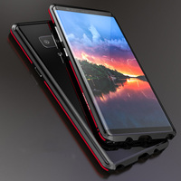 Military Shockproof Ultra Slim Aluminum Case Men Metal Phone Cover For Samsung Galaxy Note 8 S8