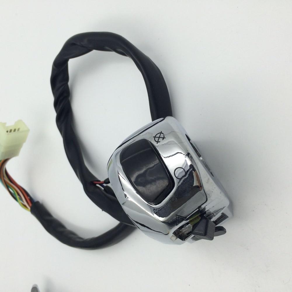 Послепродажного бесплатная доставка правый переключатель, пригодный для Suzuki системы GSX-r600 о/системы GSX-750 Рандов/системы GSX-Р1000/TL1000/Хаябуса GSX1300R нас модель хромированный