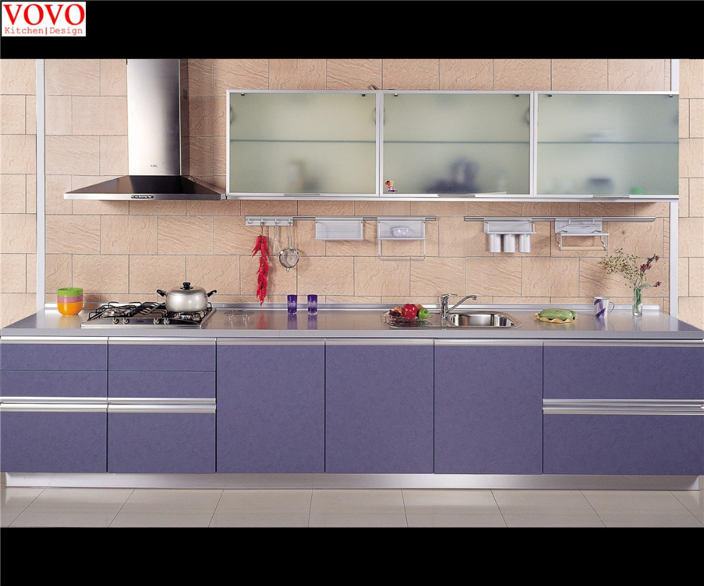 Pre assembled kitchen cabinets on alibaba for Assembled kitchen units