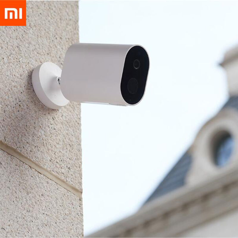 Original Xiaomi Smart Camera 1080P 5100MAH Battery Gateway 120 Degree IP65 Waterproof F2 6 AI Humanoid