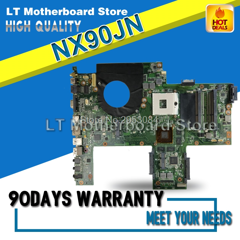 For ASUS NX90JN Laptop Motherboard System Board Main Board Mainboard Card Logic Board Tested S-4 laptop motherboard for asus b400a i5 system board main board mainboard card logic board tested well