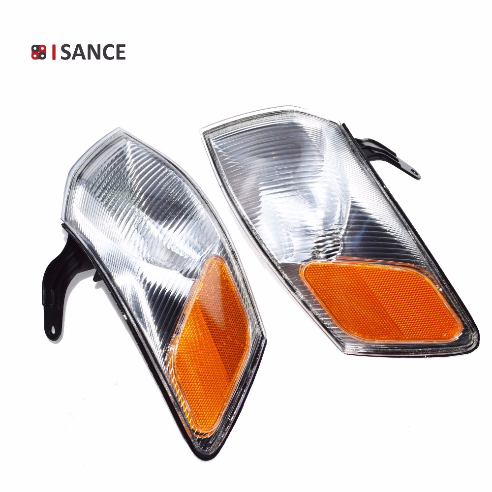 ISANCE Turn Corner Signal Park Light Lamp Left Right 81510 AA010 81520 AA010 For Toyota Camry