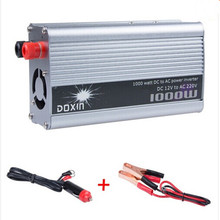 1000W 12V/220V Portable Automotive Power Inverter Charger Converter for Car Auto DC 12 to AC 220 Modified Sine Wave
