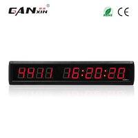 [Ganxin] 1.8 ''9999 дней обратного отсчета и подсчитать светодиодные часы настенные часы 2017 Бесплатная доставка