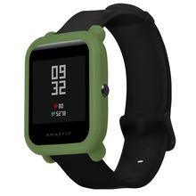 Soft Protection Silicone Full Case Cover For Huami Amazfit Bip Youth W