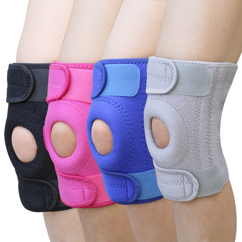 Relieve Stress Sport Safety Knee Pad Protection Elastic Nylon Bandage Protector Adjustable Fitness Elbow Support Braces Adult