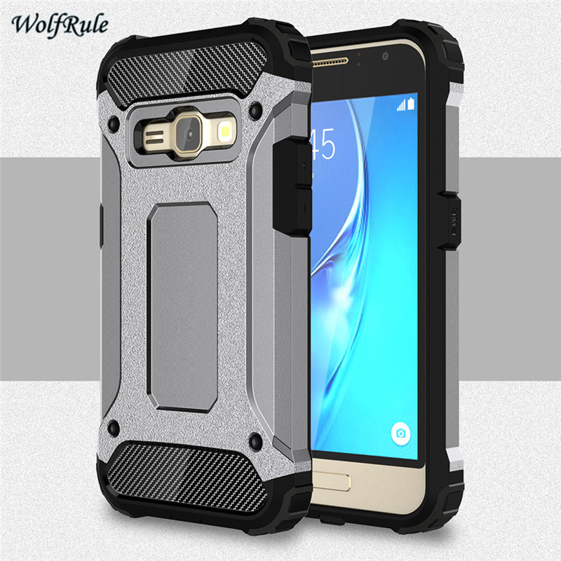 Case For Samsung Galaxy J1 2016 Cover J120 Anti-knock TPU + Plastic Case For Samsung Galaxy J1 2016 Case For Samsung J1 2016 <