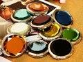 LOGOTIPO personalizado regalos promocionales portátil de bolsillo fodable espejo de dos caras de cristal fahsion mano Cosmético Compacto Maquillaje whcn