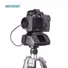 Moveski AD-10 Автоматическая панорамная моторизованная головка штатива электронная камера 360 градусов моторизованная шаровая головка для Canon Nikon sony