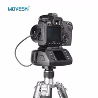 Moveski AD 10 Автоматическая панорамная моторизованная головка штатива электронная камера 360 градусов моторизованная шаровая головка для Canon Nikon