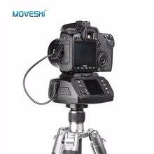 AD-10 Moveski Câmera cabeça do tripé Panorâmica motorizada Eletrônico 360 Graus Motorizado Automático Bola de cabeça para Canon Nikon Sony