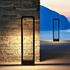 Image 2 - Thrisdar pilier lumineux pour lextérieur, luminaire de paysage, borne lumineuse pour une Villa, un parc, un Patio, un sentier, 10W LED