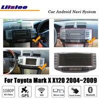 Liislee 12.3 2+32G Android Car Multimedia For Toyota Mark X / Reiz X120 2004~2009 Original Stereo GPS Map Navi Navigation System