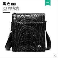 KADILER импортная из Таиланда Boa skin одинарная сумка на плечо из натуральной кожи одинарная сумка из змеиной кожи зерна сумка женский клатч