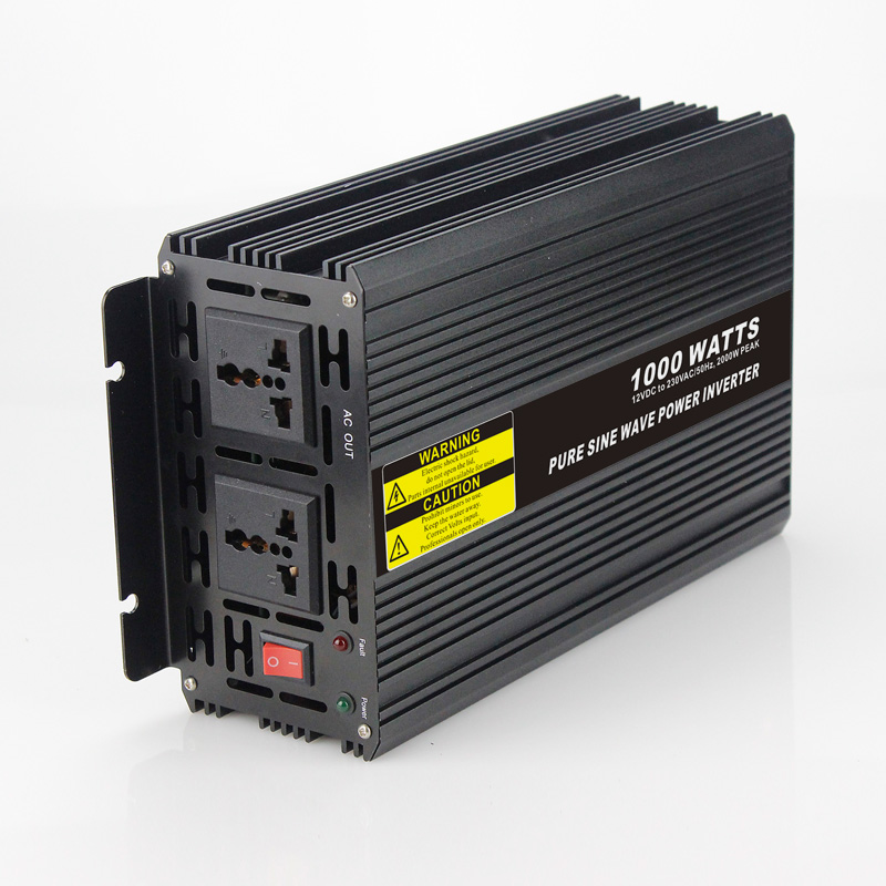 Long lifetime 1000W Car Power Inverter Converter DC 24V to AC 110V or 220V Pure Sine Wave Peak 2000W Power Solar inverters high efficiency 1000w car power inverter converter dc 12v to ac 110v or 220v pure sine wave peak 2000w power solar inverters