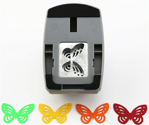 Image 2 - Super Large Size Shaper Punch Craft Scrapbooking butterfly Paper Puncher large Craft Punch DIY children toys