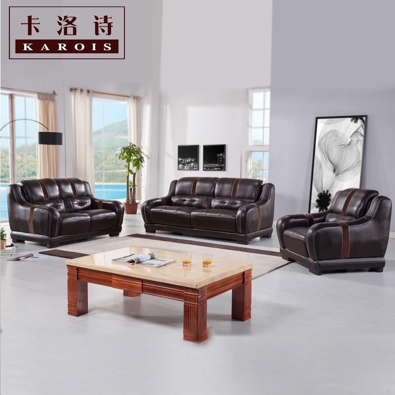 Leather Sofa Sectional Sofa Livingroom Furniture