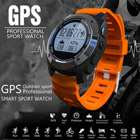 2017 Smart Watch GPS Outdoor Sports Waterproof With Heart Rate Monitor Pressure Altimeter Barometer Thermometer For