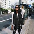 Luxury Brand Scarf Pashmina Echarpe Cashmere Scarf Wrap Shawl Spring Scarf Men Women's Scarves Long  Wool Cachecol Foulard