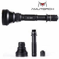 Amutorch TC500 CREE XM L2 U4/XHP70/10w/30w 4000 lumens powerful LED flashlight 18650 flashlight